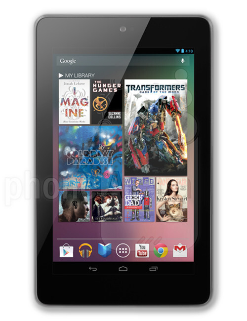 Asus Nexus 7 2012, 56.80% screen-to-body ratio