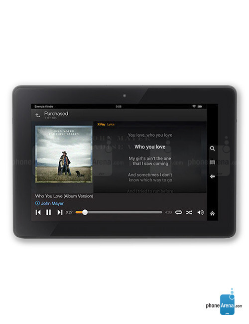 Amazon Kindle Fire HD (2013), 55.24% screen-to-body ratio