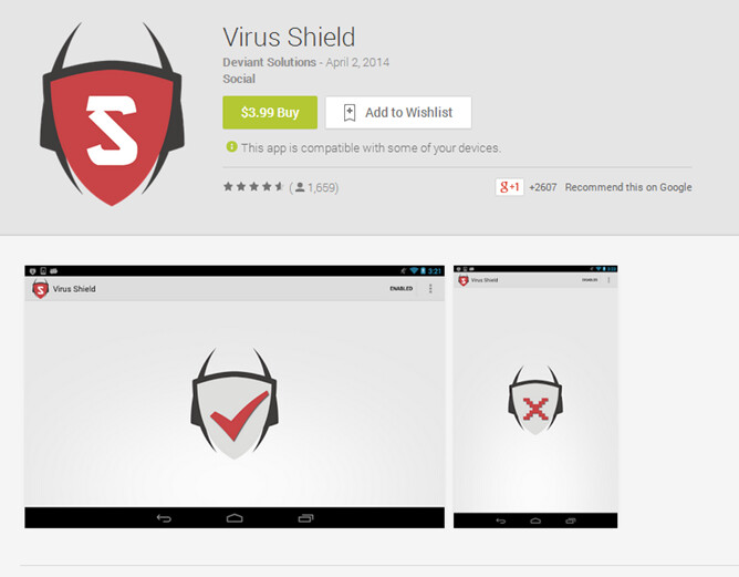 Popular Virus Scan app outed as a scam and pulled from Google Play