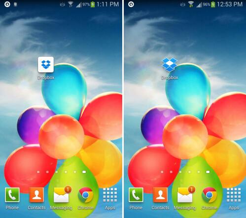 Dropbox - old vs. new