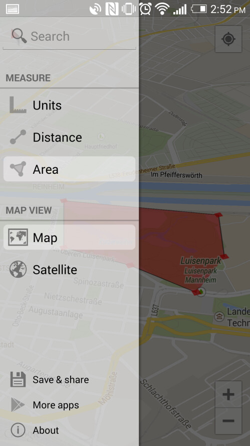 Maps Measure for Android