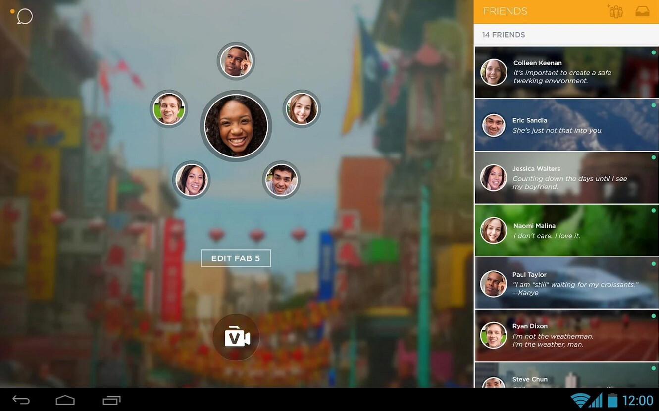 Phone Oovoo For Android Phone the best video calling message apps for android oovoo