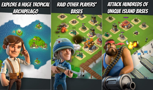 Boom Beach - iOS - Free (with in-app purchases)