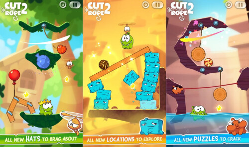Cut the Rope 2 - Android, iOS - Free