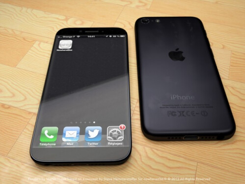 "Apple iPhone 6 in a phablet size with 5.5"" display"