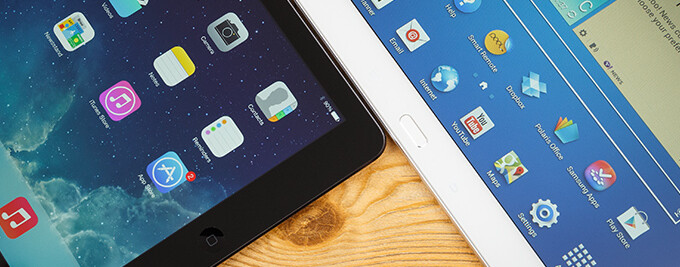 Samsung sees increased tablet market share, but Apple is still the king in the castle