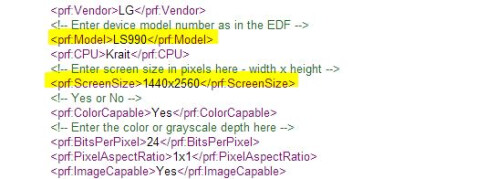 Is this the LG G3: specs for top-shelf Sprint-bound LG phone leak out