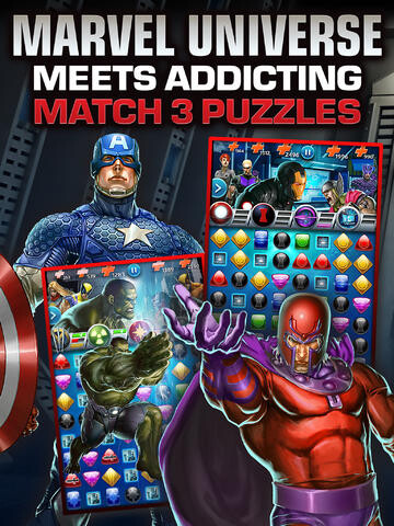 Marvel Puzzle Quest Dark Reign