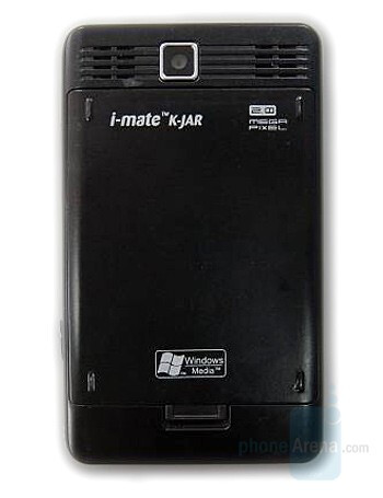 i-mate K-JAR live pictures from FCC - i-mate K-JAR is side-hinged clamshell