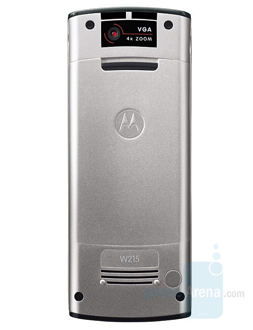 Motorola W215 in two color variations - Motorola W215 – stylish phone on a budget