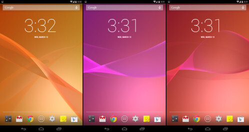 Sony Xperia Z2 Live Wallpaper