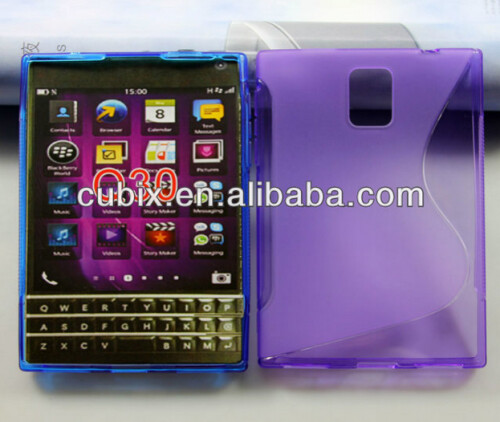 Cases are already being prepped for the unannounced BlackBerry Q30