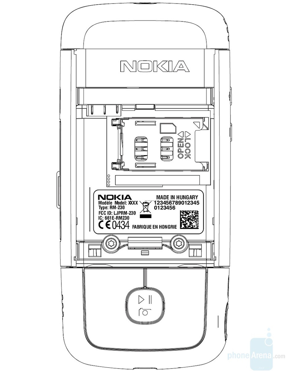 Nokia RM-230 - Nokia prepares global 3G multimedia phone with two keyboards