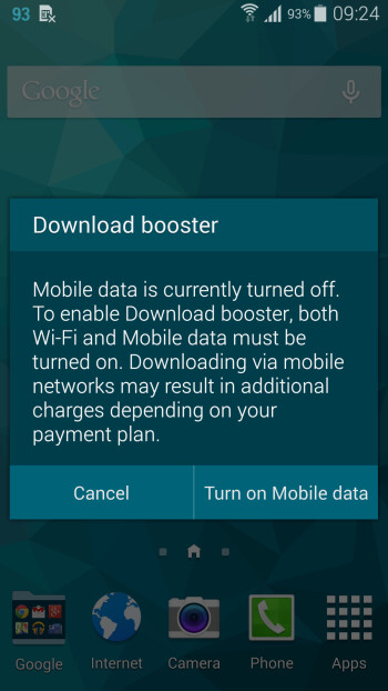 How to download files faster on the Samsung Galaxy S5