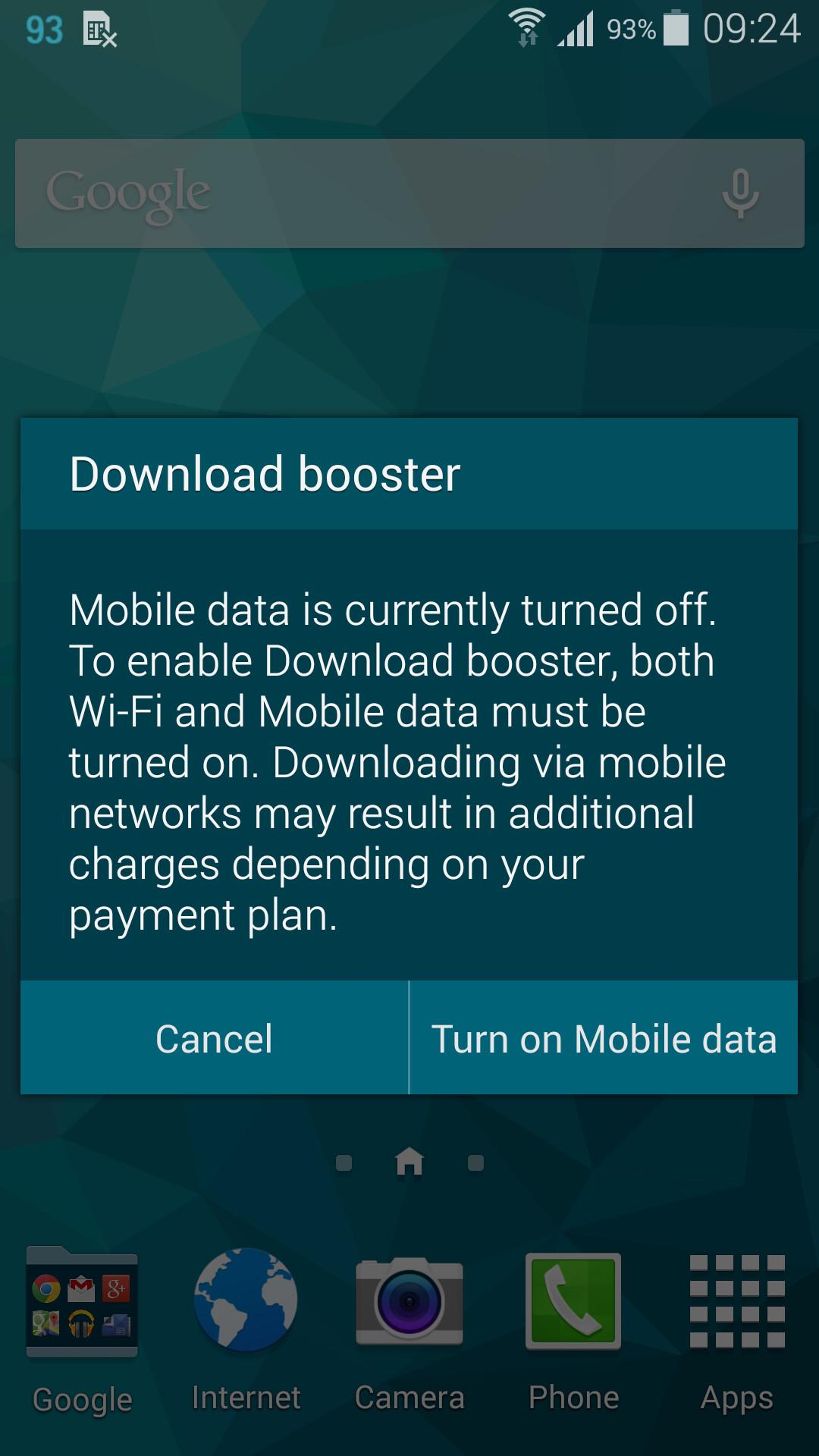 4g Blue Tick Phones Screenshot
