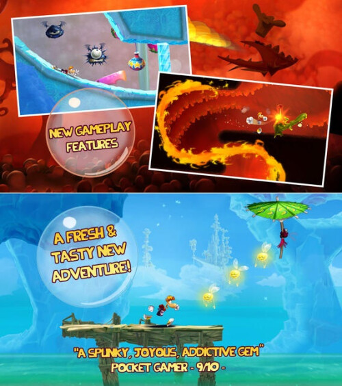 Rayman Fiesta Run $0.99 from $2.99