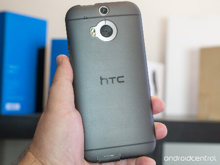 Some HTC One (M8) buyers received a free TPU case in the box