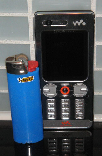 Sony Ericsson W880 - Sony Ericsson's future line including W610, W880 and K550