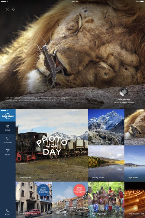 Postcards by Lonely Planet - iOS - Free