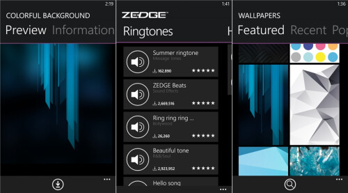 Zedge - Windows Phone - Free