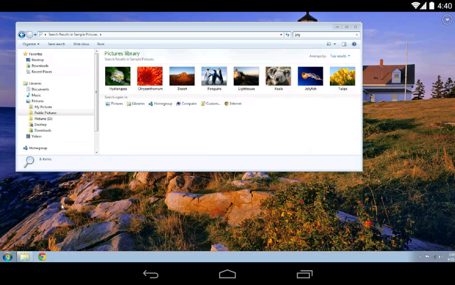 Chrome Remote Desktop comes to Android