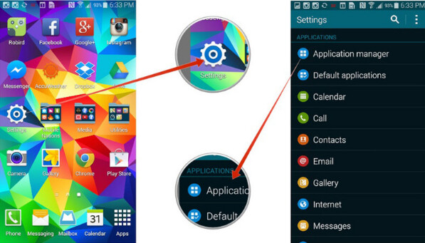 how to remove my magazine from samsung galaxy s5