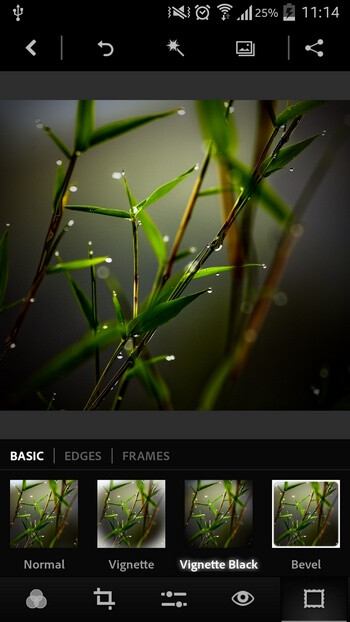 Adobe Photoshop Express screenshots