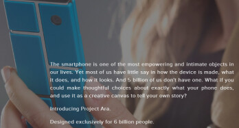 What do you make of Google's modular phone project Ara?
