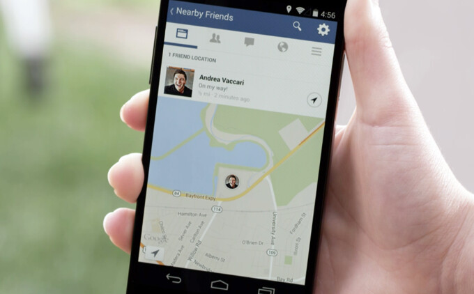 Facebook intros new opt-in feature called Nearby Friends (for Android and iPhone)
