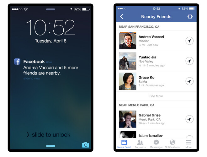 Facebook intros new opt-in feature called Nearby Friends ...