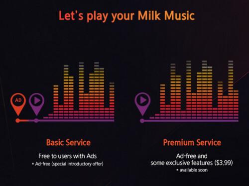 Samsung's Milk Money to get new premium ad-free rate
