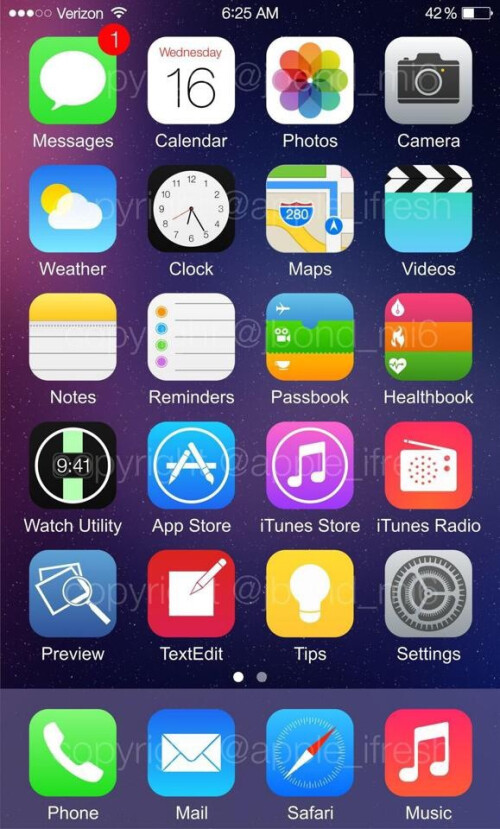 Watch Utility appears on another iOS 8 leak while FaceTime goes down for iOS 6 users