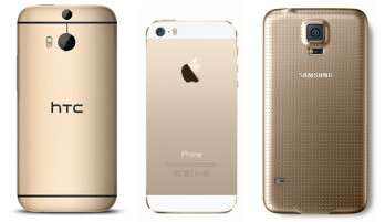 Gold-colored smartphones - hot or not?