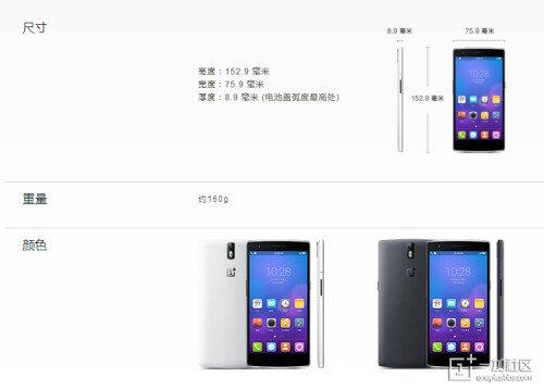 OnePlus One leaks out ahead of April 23 reveal - Oppo looks, Moto style