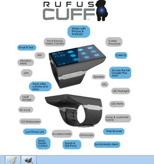 Rufus Cuff Monster