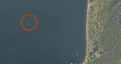 Did Apple Maps capture the Loch Ness Monster?