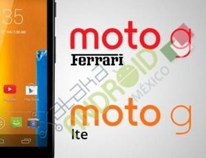 Motorola Moto G LTE and Moto G Ferrari coming soon?