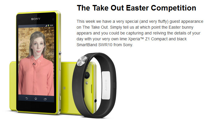 Win a Sony Xperia Z1 Compact and a Sony SmartBand SWR10 directly from the manufacturer - Win the Sony Xperia Z1 Compact and a Sony SmartBand SWR10 directly from Sony