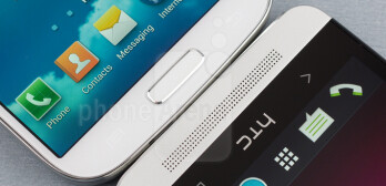 The Samsung Galaxy S4 vs HTC's One (M7)