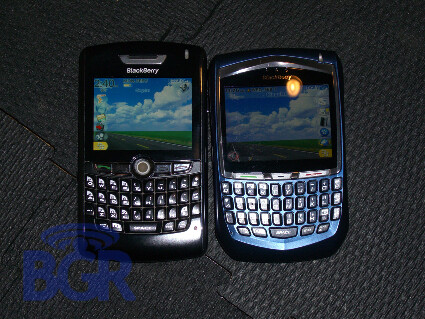 8800 and 8700 - Blackberry 8800 Live Pictures