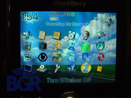 Blackberry 8800 Live Pictures
