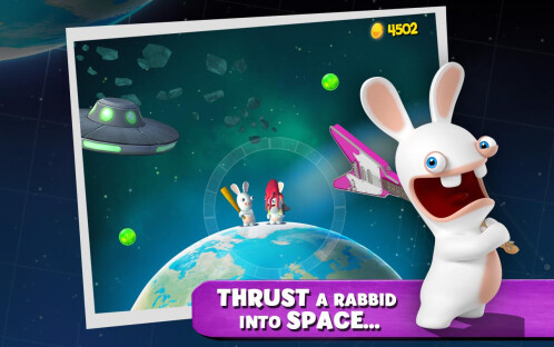 Rabbids Big Bang - Android, iOS - - $0.49, down from $0.99