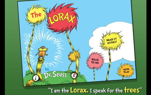 The Lorax - Dr. Seuss - Android, iOS - $0.99, down from $4.99