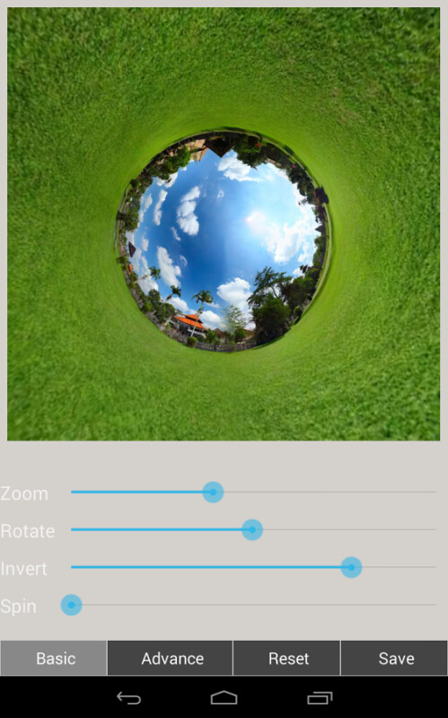 Tiny Planet FX Pro - Android - $0.99, down from $2.99