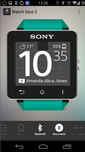Using Sony's Smart Connect app, you can customize your Sony SmartWatch2 - Sony SmartWatch 2 gets an update to add custom watch faces and new features