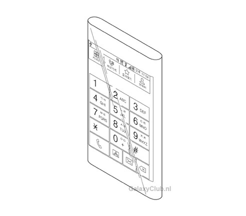 Samsung's patent application could show the Samsung Galaxy Note 4