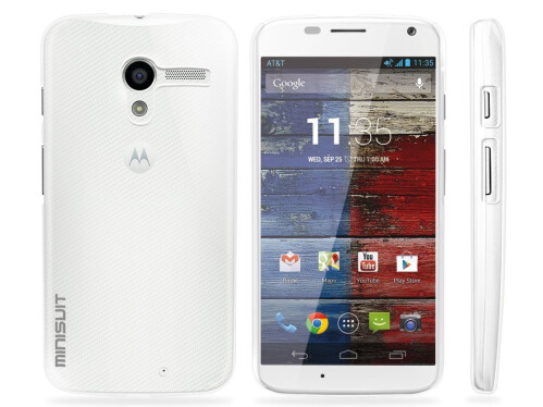 Moto X - Minisuit Ultra Thin Air Case for Motorola Moto X (High Gloss Crystal Clear)