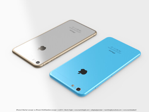 Apple iPhone 6s and 6c concept