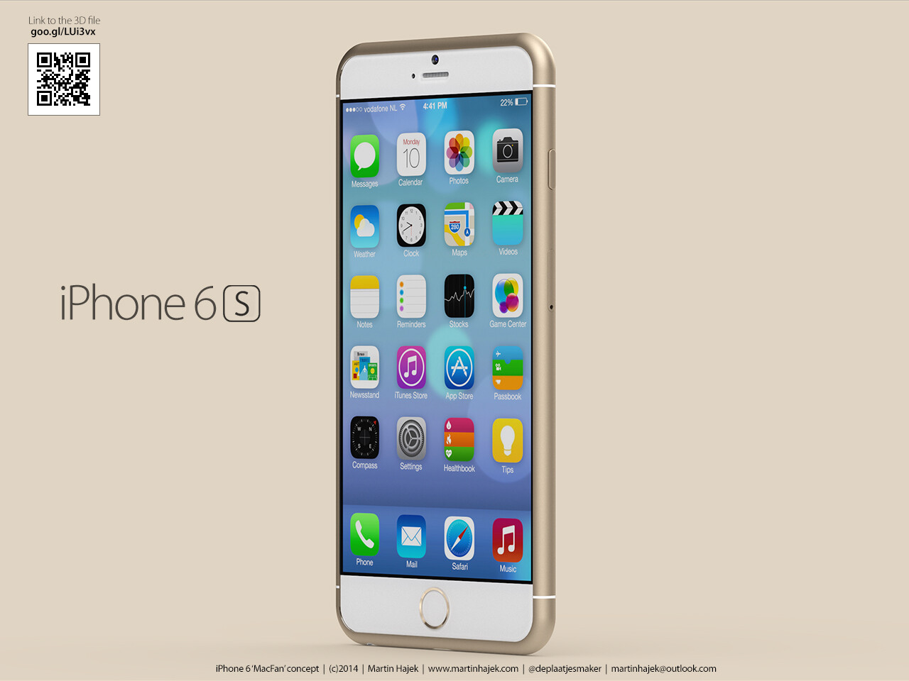 apple iphone 6s and 6c concept reimagines apple 39 s next big. Black Bedroom Furniture Sets. Home Design Ideas