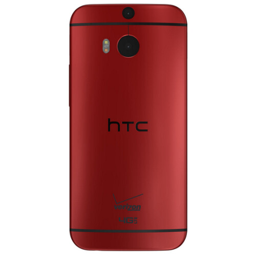 Verizon's red HTC One M8 and Kyocera Brigadier